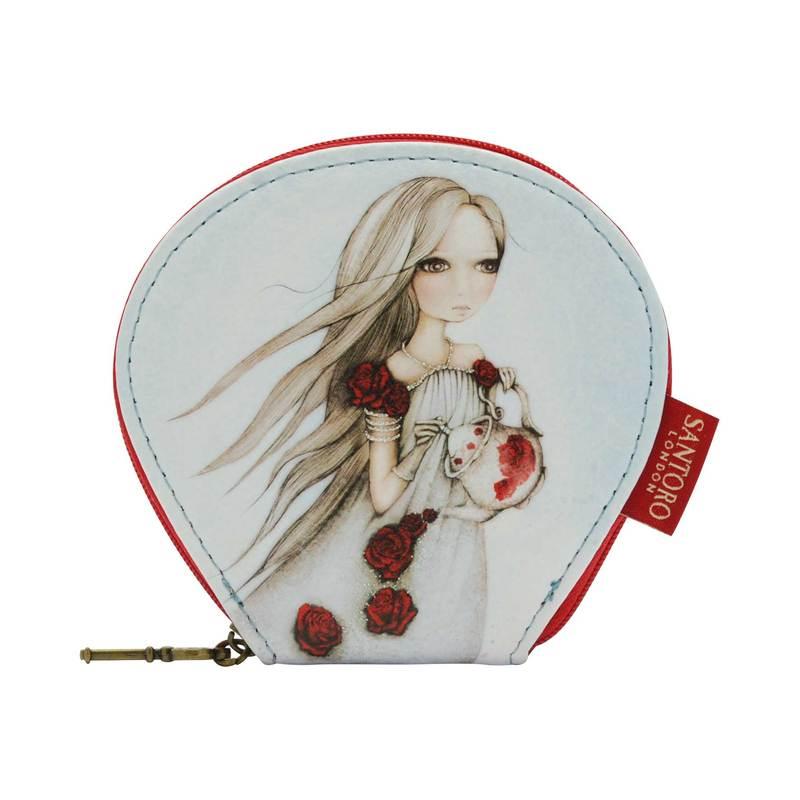 Ívelt Pénztárca- Mirabelle- Rose Tea  - 648EC02